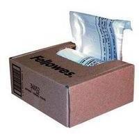 Image for Fellowes Shredder Bags Capacity 38 Litre [for SB-87Cs Series] Ref 36052 [Pack 100]