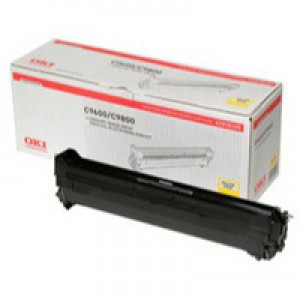 OKI Laser Drum Unit Page Life 30000pp Yellow Ref 42918105