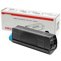 Oki C3200 Toner Cartridge Standard Yield Cyan 43034807