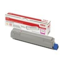 OKI Laser Toner Cartridge Page Life 6000pp Magenta Ref 43487710