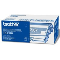 Brother Laser Toner Cartridge High Yield Page Life 2600pp Black Ref TN2120