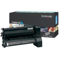 Lexmark C780/C782/X782E Return Programme Laser Toner Cartridge Cyan C780A1CG