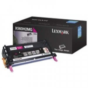 Lexmark X560 High Yield Toner Cartridge Magenta X560H2MG