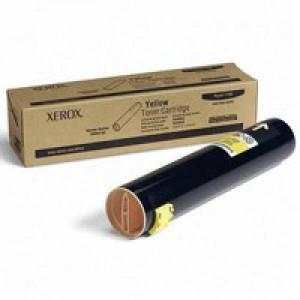 Xerox Phaser 7760 Toner Cartridge Yellow 106R01162