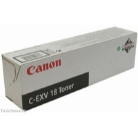 Canon C-EXV18 Copier Toner Cartridge Page Life 8400pp Black Ref 0386B002