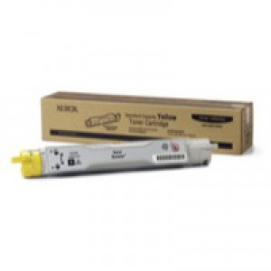 Xerox Phaser 6300 Toner Cartridge Standard Capacity Yellow 106R01075