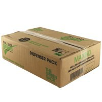 Maxima Green Heavy Duty Refuse Sack Black Pack of 200