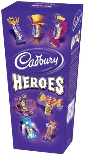 Cadbury Heroes Miniature Chocolates Selection Box 200g Ref A07566