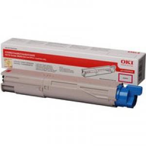 Oki C3450 Toner Cartridge Magenta Code 43459434