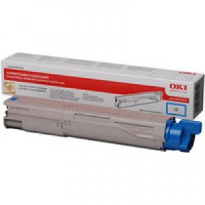 Oki C3450 Toner Cartridge Cyan Code 43459435