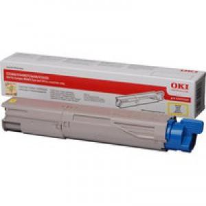 Oki Laser Toner Cartridge Yellow Code 43459329