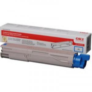 Oki Laser Toner Cartridge Cyan Code 43459331