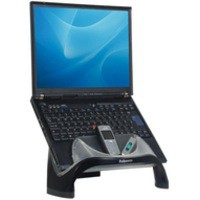 Fellowes Smart Suites Laptop Riser with 4 Port USB 3 Height Adjustments Capacity 17in 6kg Ref 8020201