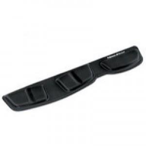 Fellowes Professional Fabric Keyboard Palm Rest Microban Cushioned Black Ref 9182801