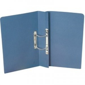 Guildhall Heavyweight Spiral File Blue