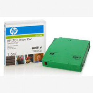 Hewlett Packard [HP] LTO4 Ultrium Data Tape Cartridge RW 240 MB/sec 1.6TB Ref C7974A