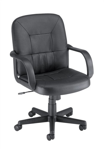 Trexus Rutland Managers Armchair Basic Back H520mm W480xD460xH440-560mm Leather Ref 10312-02F