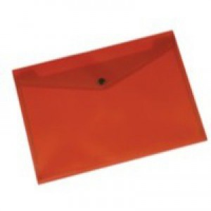 Q-Connect A4 Red Document Folder Pk12