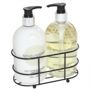 Baylis and Harding Hand Wash and Lotion Set with Stand 2x 500ml Mandarin and Grapefruit Ref VBHBM2BTLMG