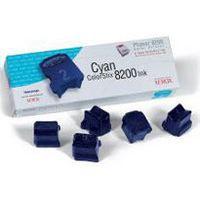 XeroxPh8200 InkStix Cyan Pk5 016-2045-00