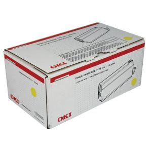 Oki C7100/7300/7500 Toner Cartridge Yellow 41963005