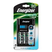Image for Energizer 1Hour Battery Charger Fast-charging Accu with 4x AA 2450mAh Batteries Ref 630271