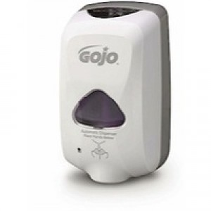 Gojo TFX Foam Soap Dispenser Touch-free with 3 Batteries Size C for 30000 Activations Ref X06240