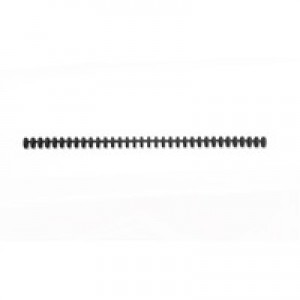 GBC ClickBind Comb Ring Coils 34 Ring for 45 Sheets 8mm Frost Black Pack 50 Code 388019E