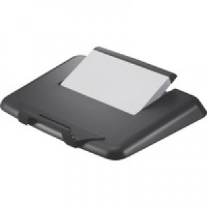 Q-Connect Plastic Laptop Stand Black