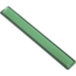 Q-Connect Green Clear Gel Wrist Rest