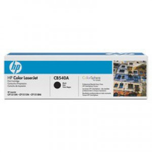 Hewlett Packard [HP] No. 125A Laser Toner Cartridge Page Life 2200pp Black Ref CB540A