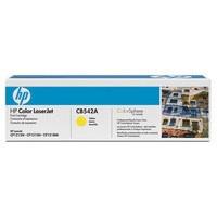 Hewlett Packard [HP] No. 125A Laser Toner Cartridge Page Life 1400pp Yellow Ref CB542A