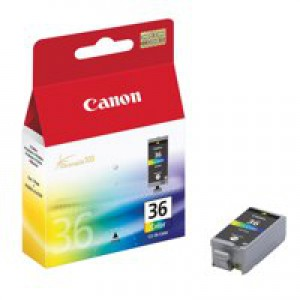 Canon CLI-36 Inkjet Cartridge Colour Ref 1511B001