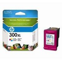 Hewlett Packard [HP] No. 300XL Inkjet Cartridge Page Life 440pp Colour Ref CC644EE