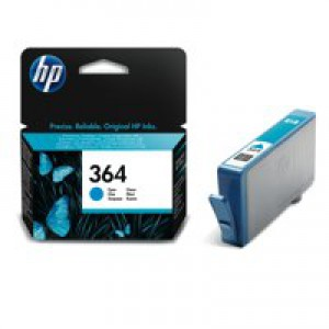 HP No.364 Inkjet Cartridge Cyan Code CB318EE