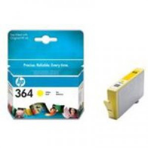 HP No.364 Inkjet Cartridge Yellow Code CB320EE