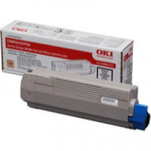 Oki C5850 Black Toner Cartridge Code 43865724