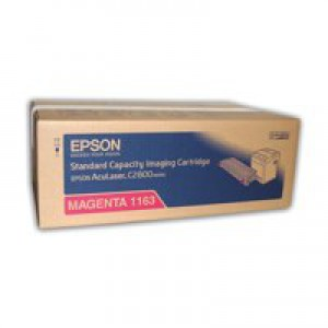 Epson C2800 Standard Laser Toner Cartridge Magenta C13S051163