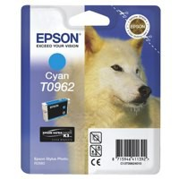 Epson Husky Ink Cartridge Cyan T0962