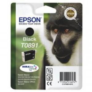 Epson Monkey DURABrite Ultra Ink Black T0891