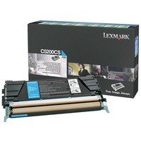 Lexmark Laser Toner Cartridge Return Program Page Life 1500pp Cyan Ref 00C5200CS