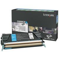 Lexmark Laser Toner Cartridge Return Program Page Life 1500pp Cyan Ref 00C5200CS