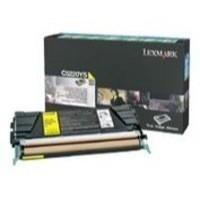Lexmark Laser Toner Cartridge Return Program Page Life 1500pp Yellow Ref C5200YS
