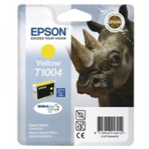 Epson Rhino DURABrite Ultra Ink Yellow T1004