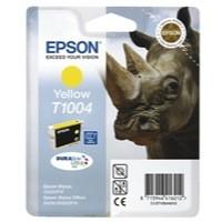 Epson T1004 Inkjet Cartridge DURABrite Ultra Rhino Yellow Ref C13T10044010