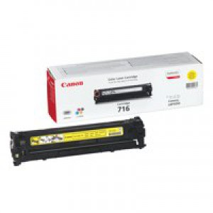 Canon 716Y Laser Toner Cartridge Yellow Code 1977B002AA
