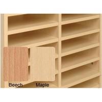 Image for Tercel Post Room Shelves for Sorter Base Beech [Pack 5]