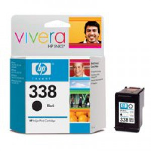 Hewlett Packard [HP] No. 338 Inkjet Cartridge Page Life 450pp 11ml Black Ref C8765EE