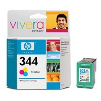Hewlett Packard [HP] No. 344 Inkjet Cartridge Page Life 450pp Colour Ref C9363EE-abb