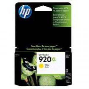 HP No.920XL Officejet Ink Cartridge Yellow Code CD974AE